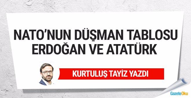 NATO'nun düşman tablosu: Erdoğan ve Atatürk