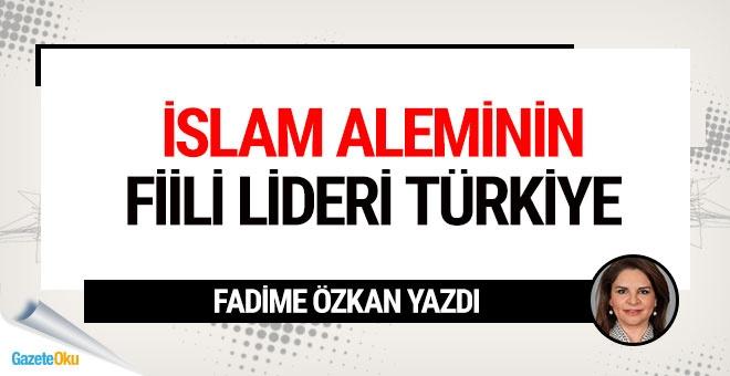 İslam aleminin fiili lideri Türkiye