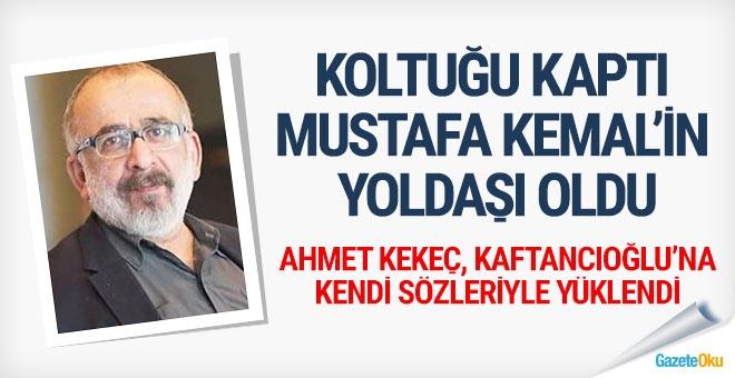 """Koltuğu kaptı, """"Mustafa Kemal'in yoldaşı"""" oldu"""