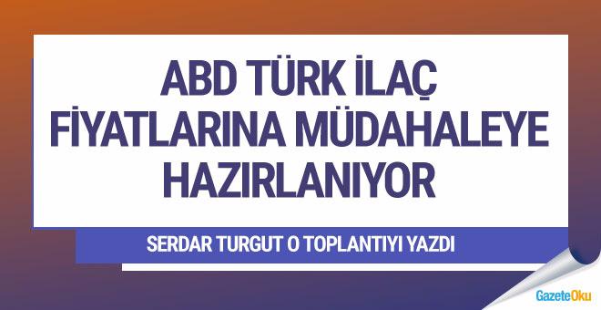 Serdar Tugut: ABD, Türk ilaç fiyatlarına müdahaleye hazırlanıyor