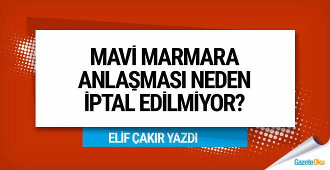 Elif Çakır: Mavi Marmara anlaşması neden iptal edilmiyor?