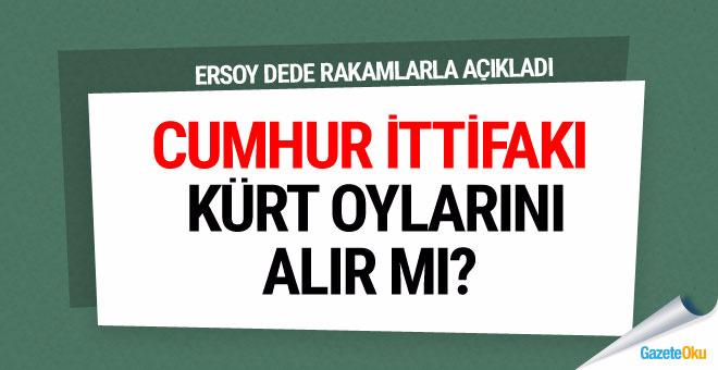 Ersoy Dede: Cumhur İttifakı Kürt oylarını alır mı?