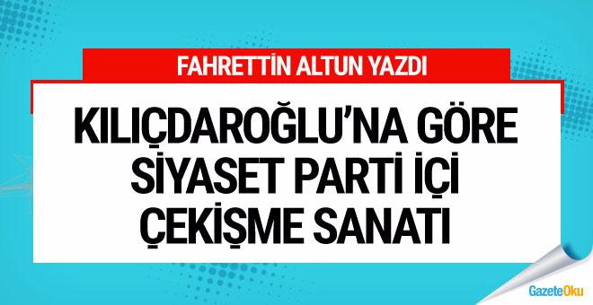 """Fahrettin Altun: Kılıçdaroğlu'na göre siyaset """"parti içi çekişme sanatı"""""""