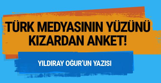 Türk medyasının yüzünü kızartan anket