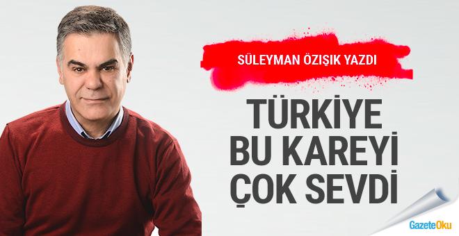 Türkiye bu kareyi çok sevdi!